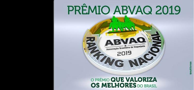 Chegou o momento de premiar os melhores do Ranking Nacional ABVAQ, será dia 13 de dezembro às 15h durante Festival CPMF em Bezerros - PE