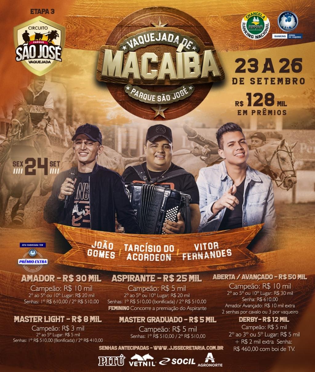 Vaquejada de Macaíba - 3ª Etapa do Circuito São José