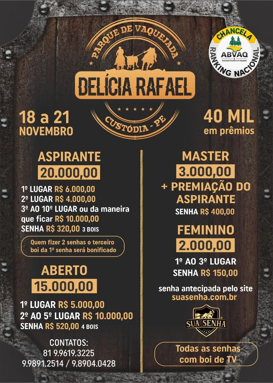Vaquejada Delícia Rafael
