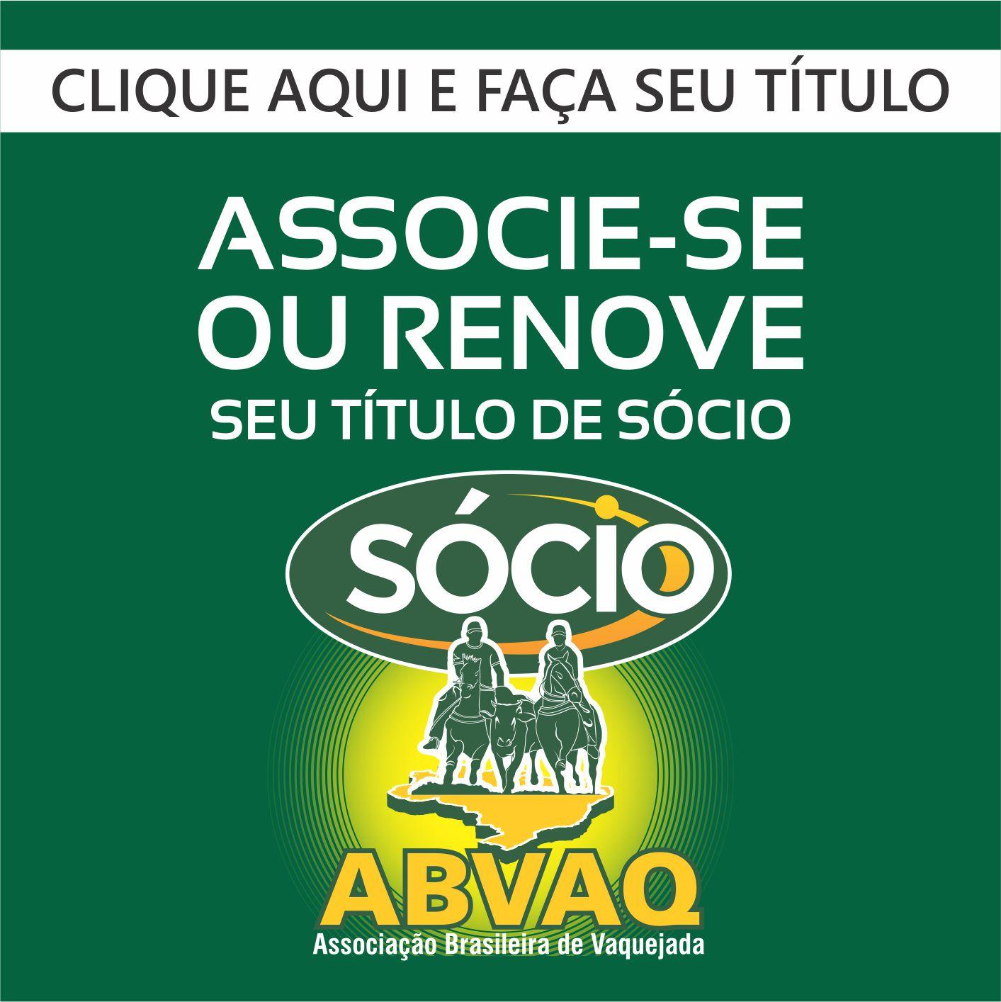 TÍTULO SÓCIO ABVAQ