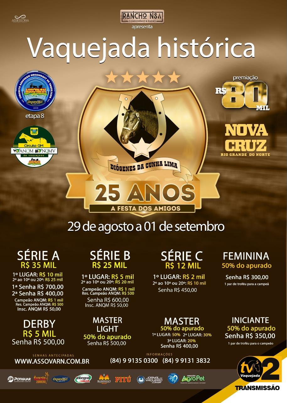 8ª Etapa - Parque Diógenes da Cunha Lima - Nova Cruz /RN