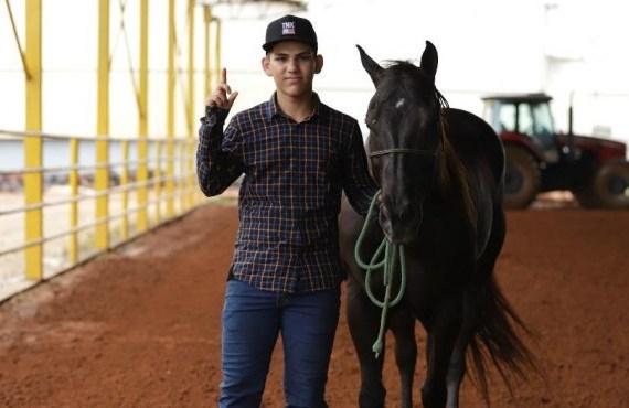 Daniel de Aquino sonha correr tempos baixos e manter constância em todos os seus cavalos